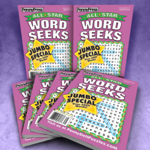 Penny Press All Star Word Seek Puzzle Magazine Bundle