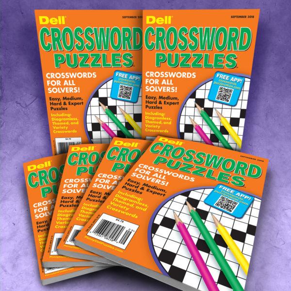 Dell Crossword Puzzles Magazine Bundle