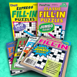 Penny Press Dell Fill-In Magazine Pack