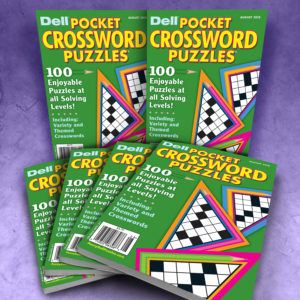 Dell Pocket Crossword Puzzles Magazine Bundle