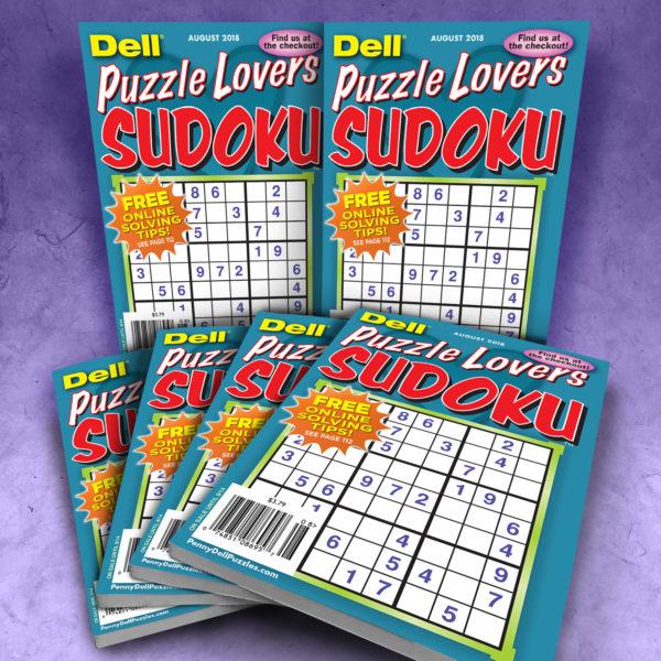 Dell Puzzle Lovers Sudoku Magazine Bundle