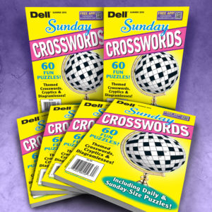 Dell Sunday Crosswords Magazine Bundle