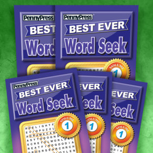 Penny Press Best Ever Word Seek Magazine Volume 1