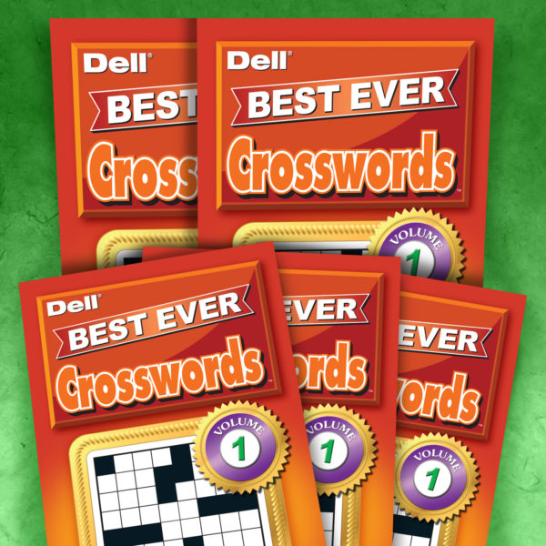 Dell Best Ever Crosswords Magazine Volume 1