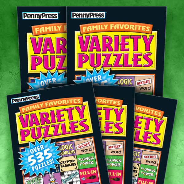 Penny Press Variety Puzzles Non-Dated