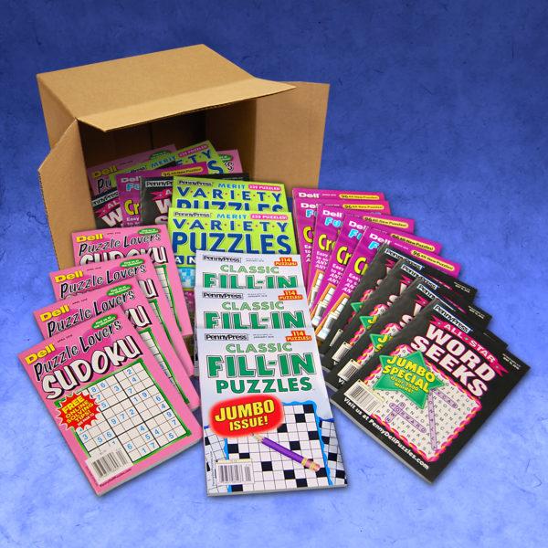 Penny Press Dell Magazines Sudoku Fill-In Word Seeks Variety