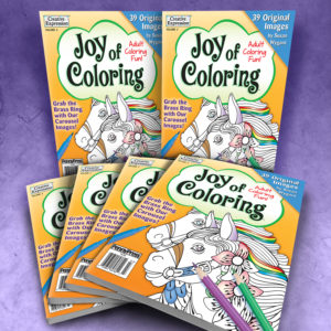 Joy of Coloring Adult Coloring Book Volume 3