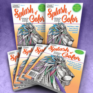 Splash of Color Adult Coloring Book Volume 4