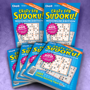 Dell Crazy for Sudoku Maximum Edition Volume 49