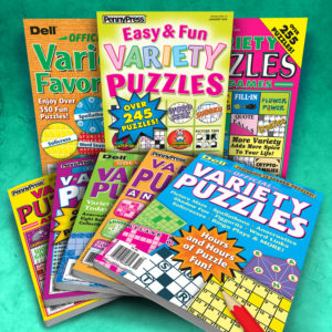 Variety Puzzle Magazines Mixed Volumes and Titles